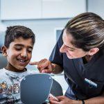 dentist and hygienist for children
